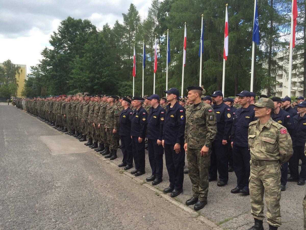 """Навчання НАТО """"Anakonda-2016"""" офіційно розпочалися у Польщі"""