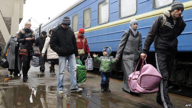 В Дрогобичі не бажають приймати чоловіків зі Сходу