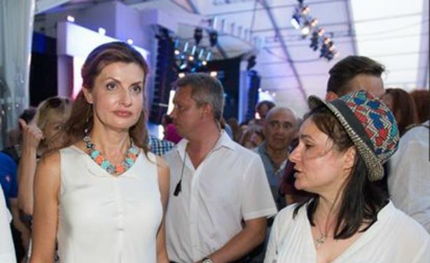 """""""Як гуляють VIP-и"""": Невістка Порошенка прийшла на Lviv Alfa Jazz Fest  (ФОТО)"""