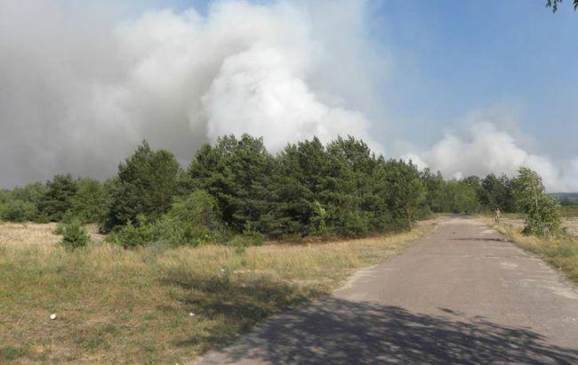 Пожежу в Чорнобильській зоні ліквідовано