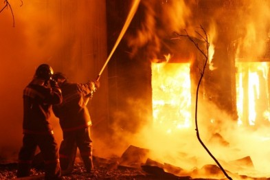 На Львівщині під час пожежі живцем згоріло подружжя