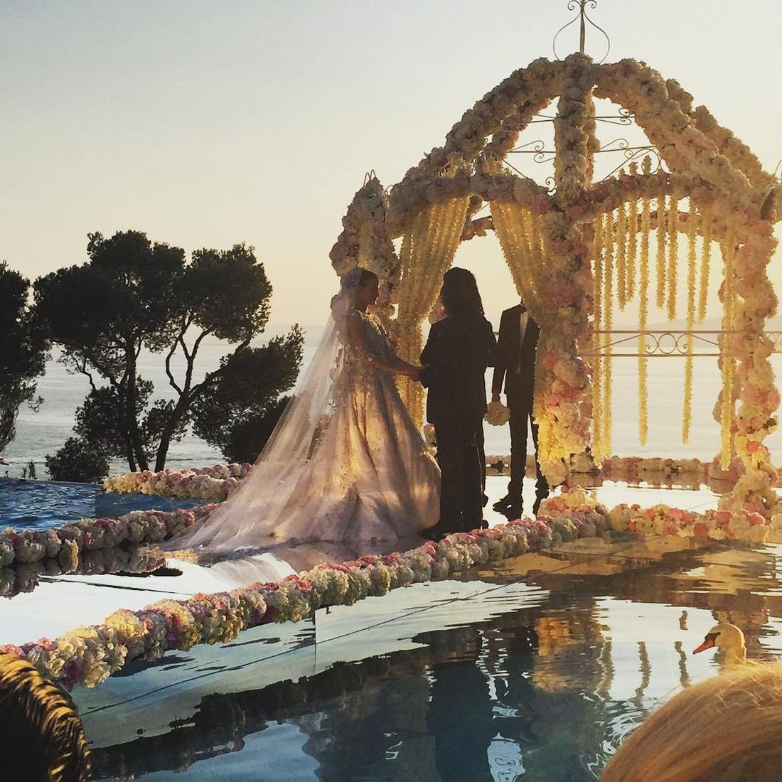 Донька українського мільярдера вийшла заміж за онука міністра Каддафі (ФОТО)