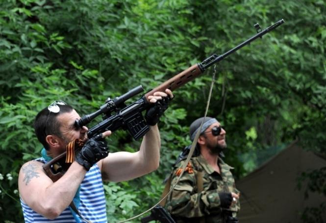 Прес-центр АТО повідомив про активізацію снайперів на Маріупольському напрямку