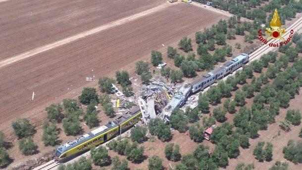 МЗС з'ясовує, чи постраждали українці в залізничній аварії в Італії