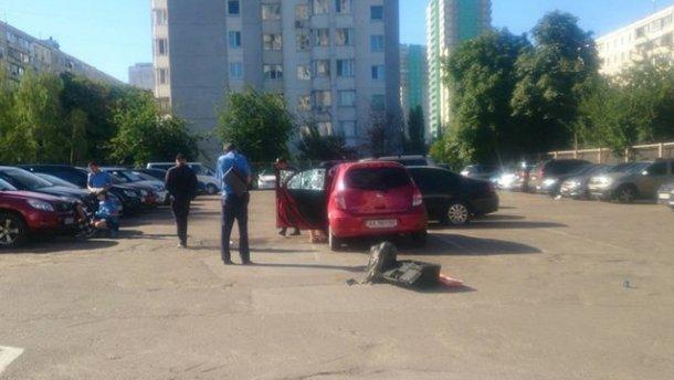 Граната вибухнула на автостоянці у Києві