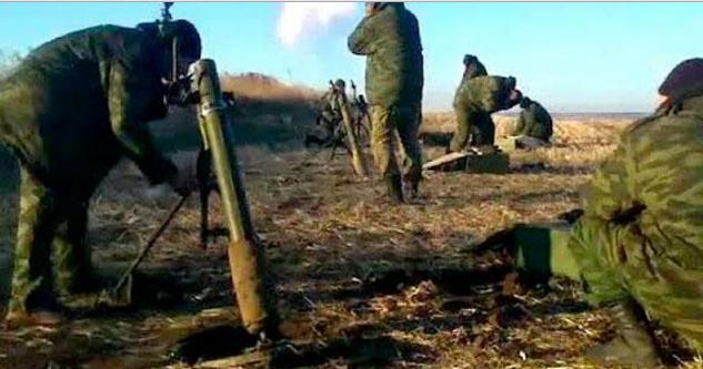 Бойовики усю ніч гатили з кулеметів і заборонених мінометів, – штаб
