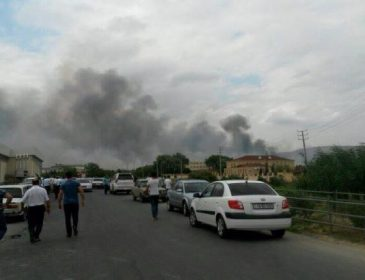 В Азербайджані відбулися вибухи на військовому заводі, є постраждалі