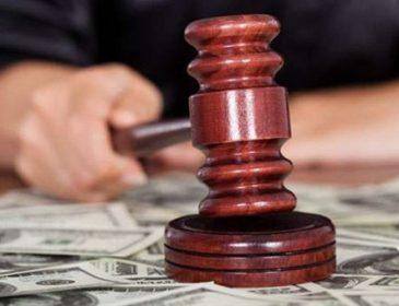 Львівський суддя отримав вісім років позбавлення волі за хабарництво