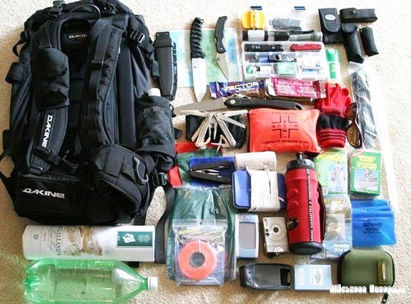 Тривожна валіза: речі, які потрібно мати на випадок війни (ІНФОГРАФІКА)