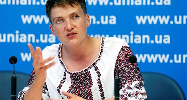 Савченко, яка голодує, виїхала в США на званий обід, де буде представляти інтереси України