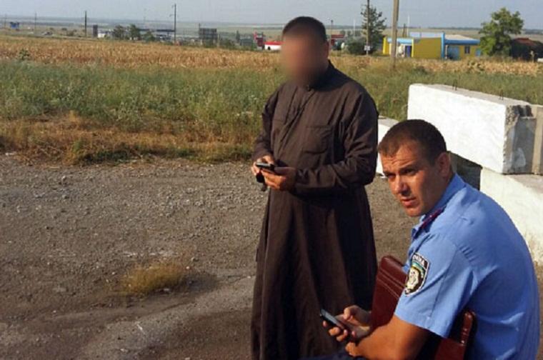 Священик віз із зони АТО протитанкові гранатомети, щоб глушити рибу