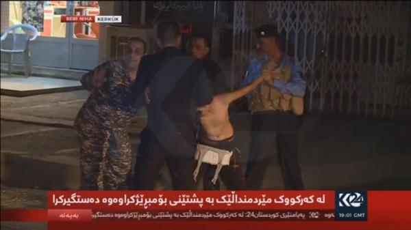 Шокуюче відео: як в Іраку з дитини поліцейські знімали пояс смертника (+18)