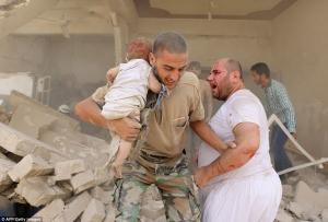 """""""Бомбардують ІДІЛ"""": росіяни вбили 11 дітей в Алеппо (ВІДЕО 18+)"""