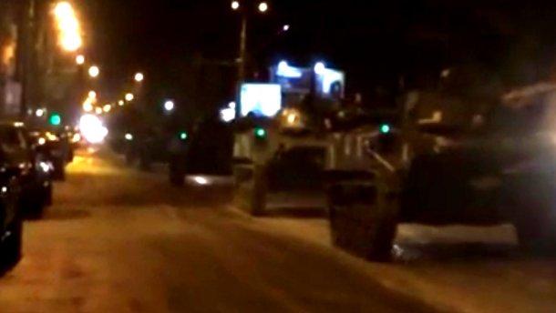 У центр Києва заїхали танки – мешканці міста стривожені