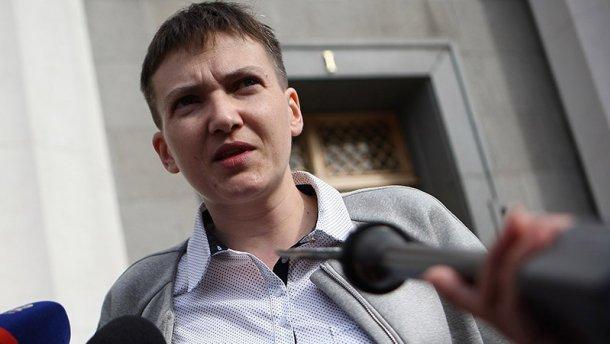 Савченко розповіла, що дозволяє собі під час голодування