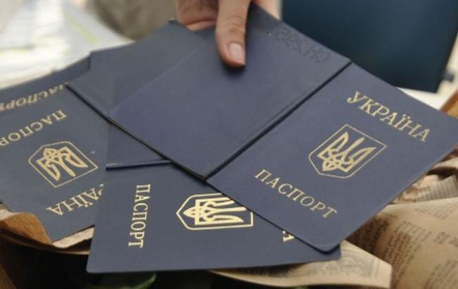 СБУ про схему незаконного оформлення паспортів