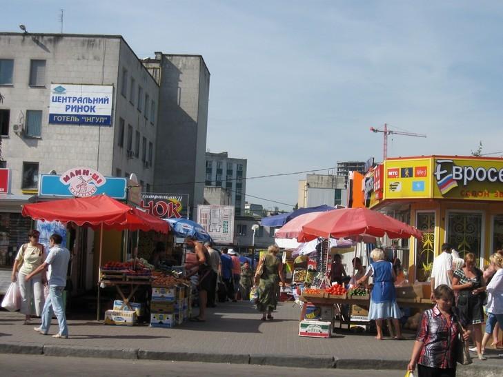 Як відома кінозірка торгує м'ясом на рівненському ринку (ФОТО)