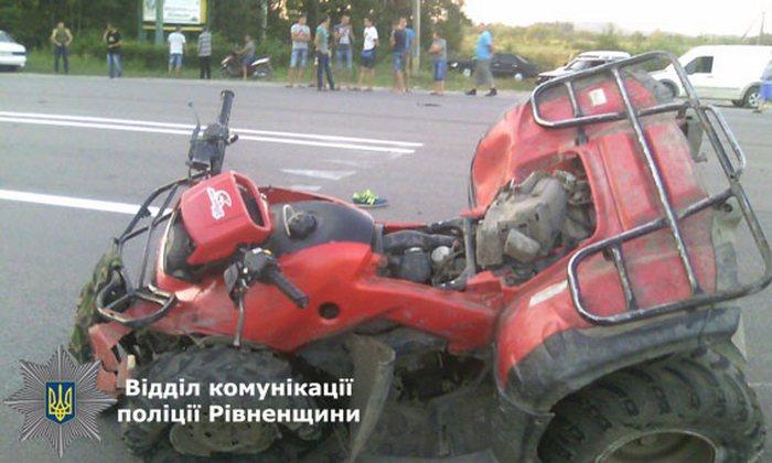 Семеро людей розбилися в аварії на Рівненщині (ФОТО)