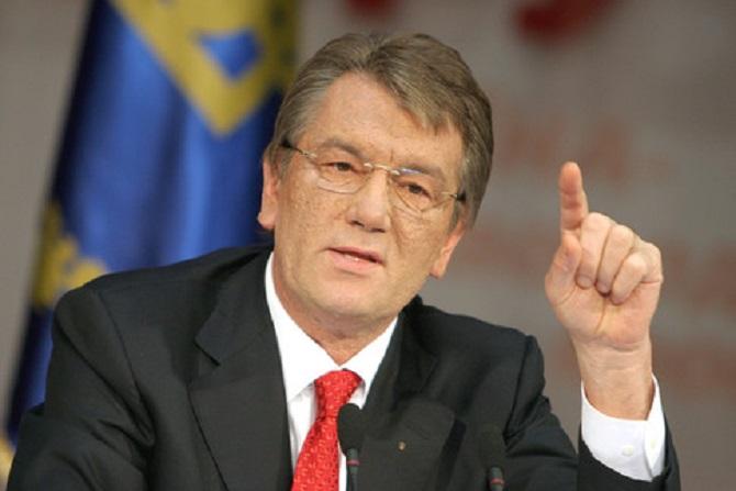 Як екс-президент Ющенко на базарі старі речі продавав (ФОТОДОКАЗ)