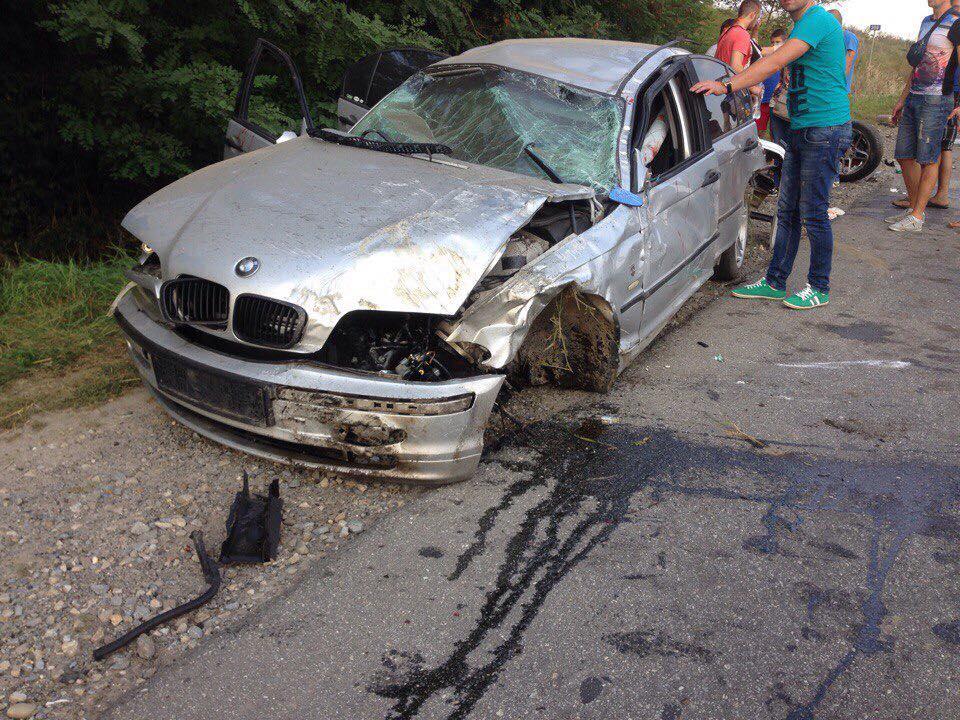 Водій вижив у результаті жахливої аварії на Львівщині (фото)
