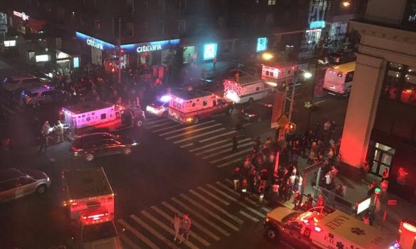 З'явилося відео з моментом вибуху в Нью-Йорку