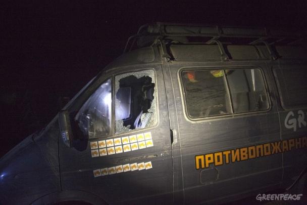 В Росії жорстоко побили активістів Greenpeace