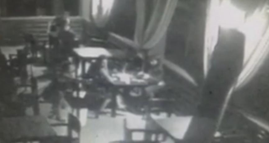 Скандальна співробітниця київської поліції влаштувала стрілянину в ресторані (відео з камери спостереження)