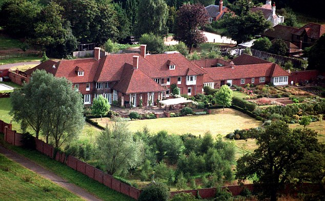 Mandatory Credit: Photo by Rex Features ( 444944B )  Sunninghill Park, home of Prince Andrew  HOMES OF VARIOUS STARS, BRITAIN