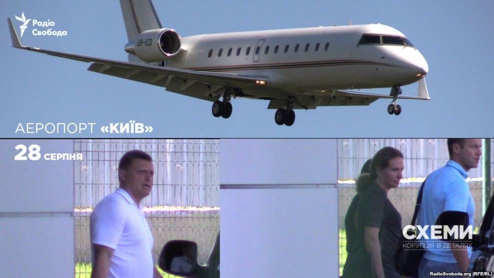 Скандальний Льовочкін літає на приватному літаку за 40 мільйонів доларів