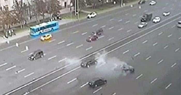 Автомобіль Путіна попав в смертельне ДТП: відео