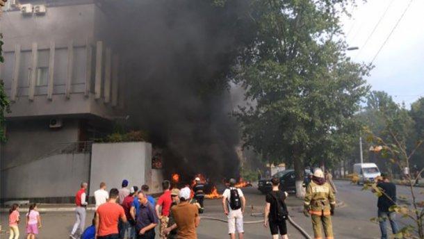 """З'явилося фото одного з організаторів нападу на """"Інтер"""" (фото)"""