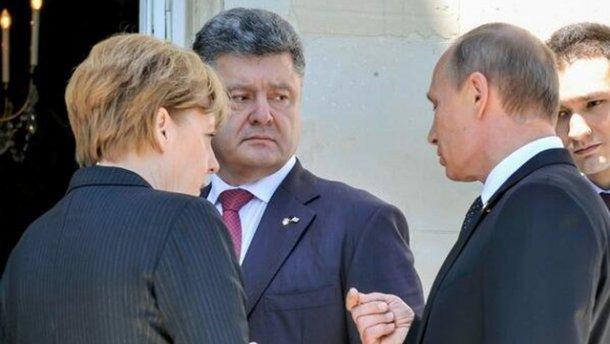 У Порошенка анонсували зустріч з Путіном