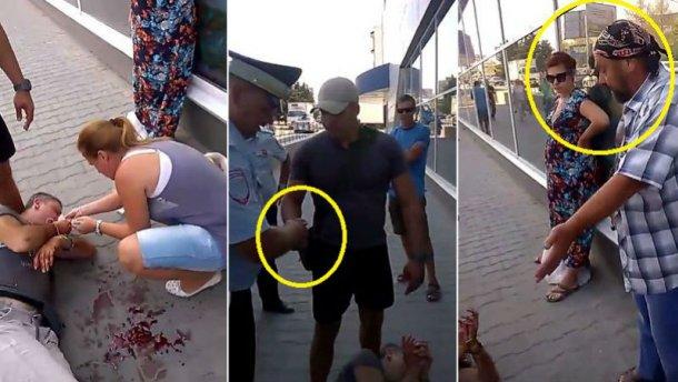 У Криму жорстоко побили українця через українську символіку (ВІДЕО)