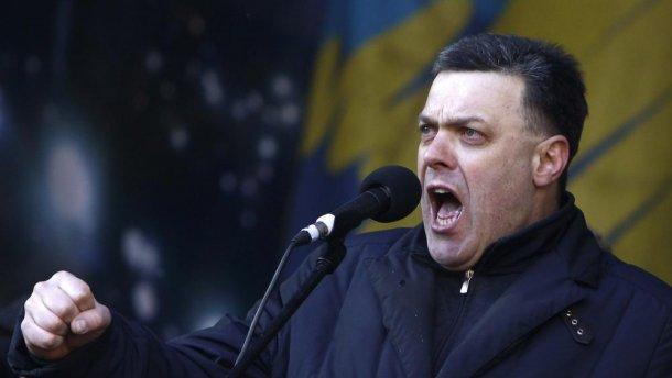 Тягнибок виграв суд у Німеччині та закликав боротися з російською пропагандою