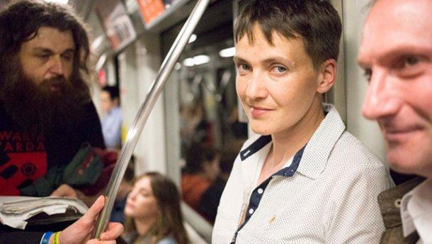 Савченко уже не голодує, – прес-секретар