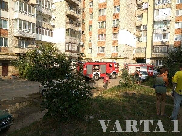 На Львівщині спалахнула пожежа. Згоріли дві квартири (Фото)