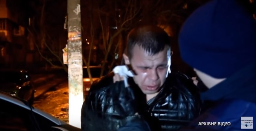У Києві «мажор» побив патрульного, бо той зробив йому зауваження (фото)
