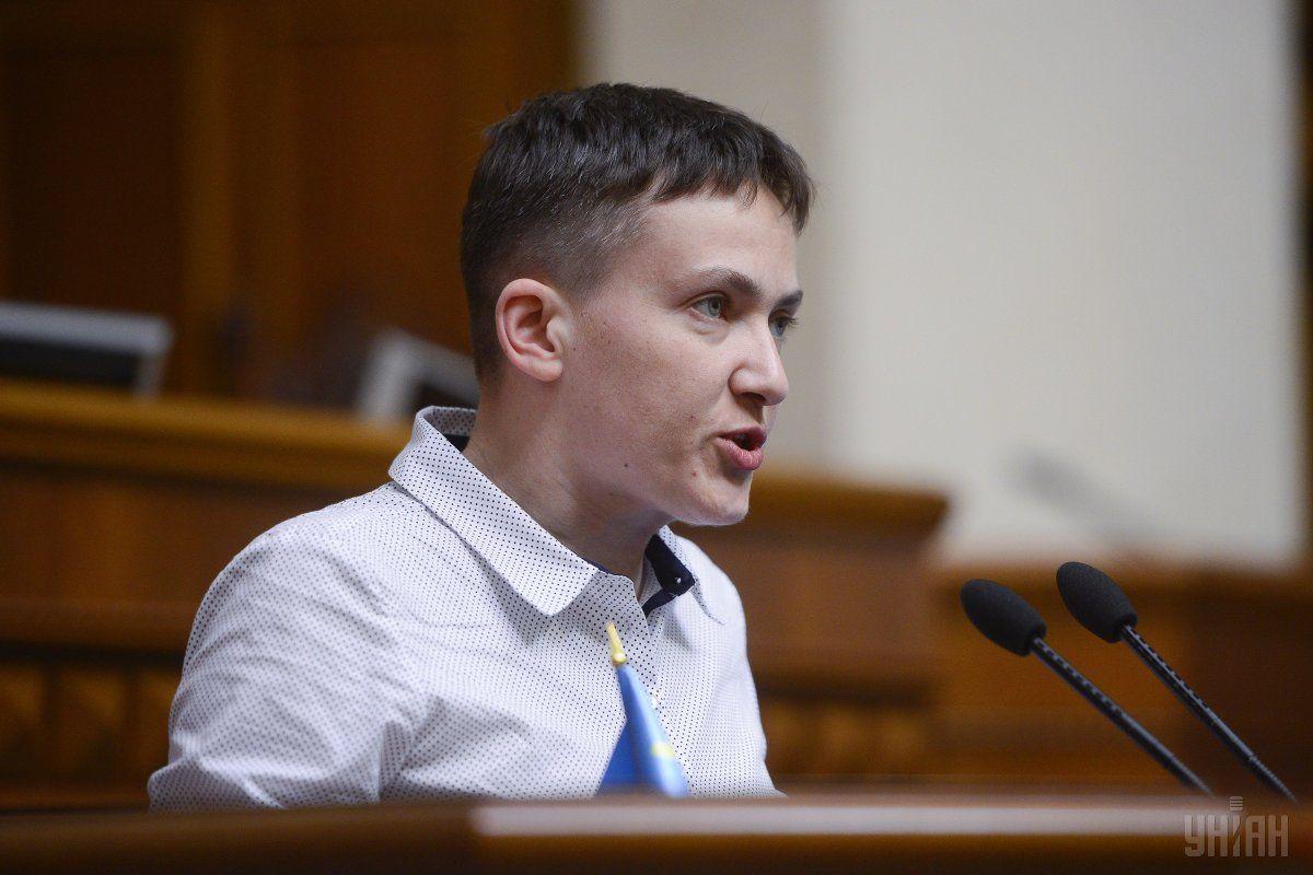 Надія Савченко боїіться побитися в Раді