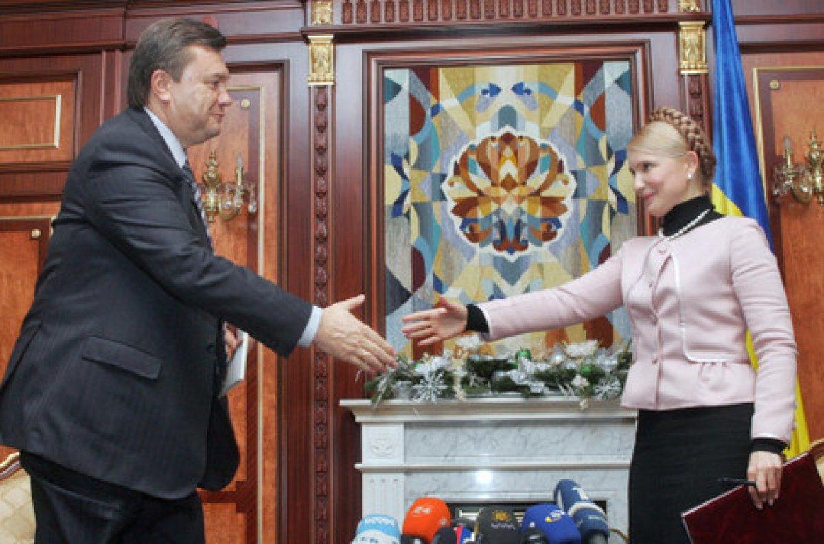 Чому Тимошенко сумує за Януковичем