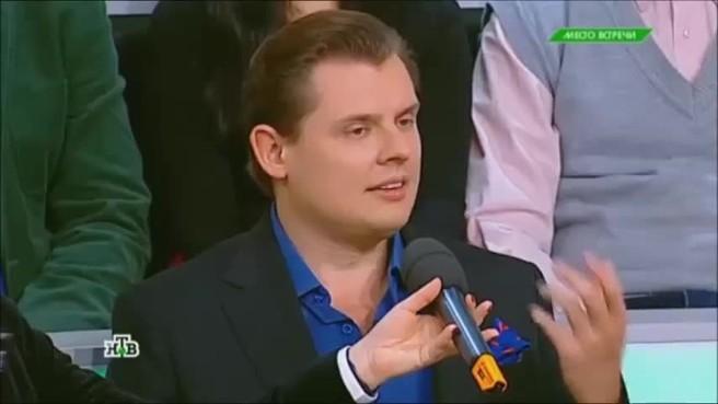"""Російський історик """"тролить"""" Моторолу в прямому ефiрi (вiдео)"""