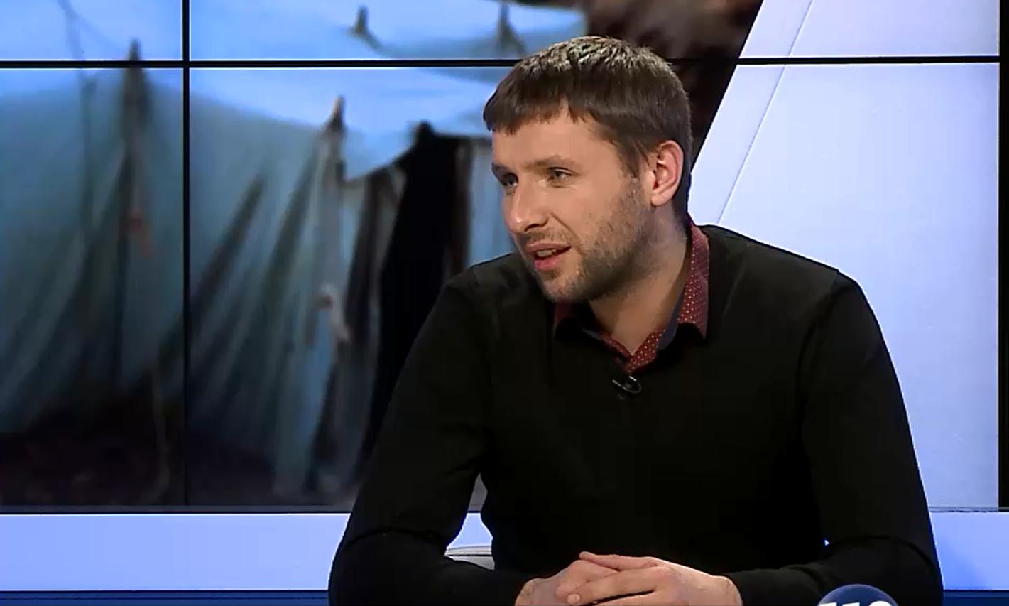 Скандал! Парасюк накинувся на оператора в прямому ефірі (відео)