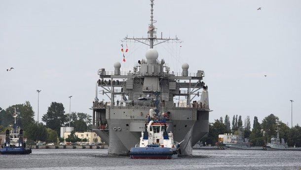 У Чорне море увійшов американський військовий корабель