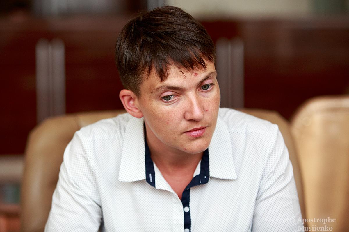 Який ти після цього на х*** офіцер: Савченко записала відеозвернення до Захарченка (ВІДЕО 18+)