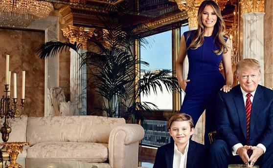 Оце так розкіш: Трамп показав свої шикарні апартаменти