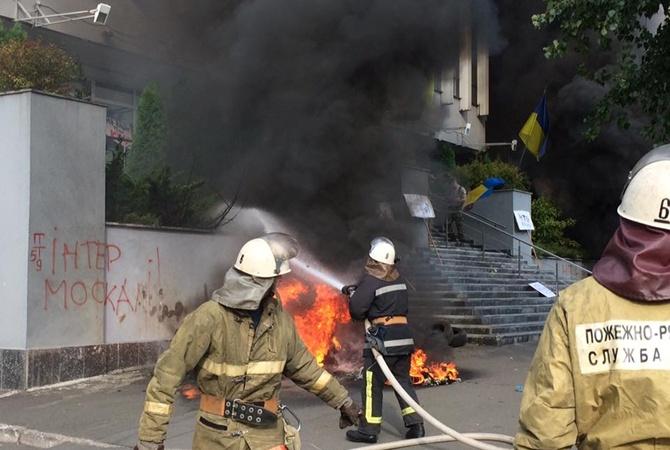 У Львові зараз горить багатоповерхівка (фото)