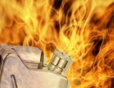ШОК! Ревнивий чоловік облив бензином і підпалив свою дружину