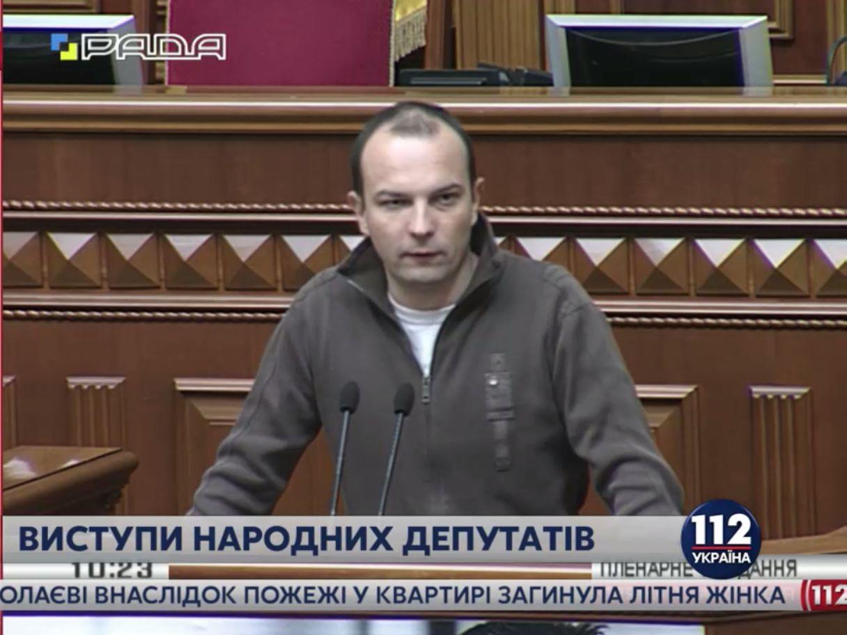 Соболєв другий день доводить до сказу нардепів своїми заявами у Верховній Раді (відео)