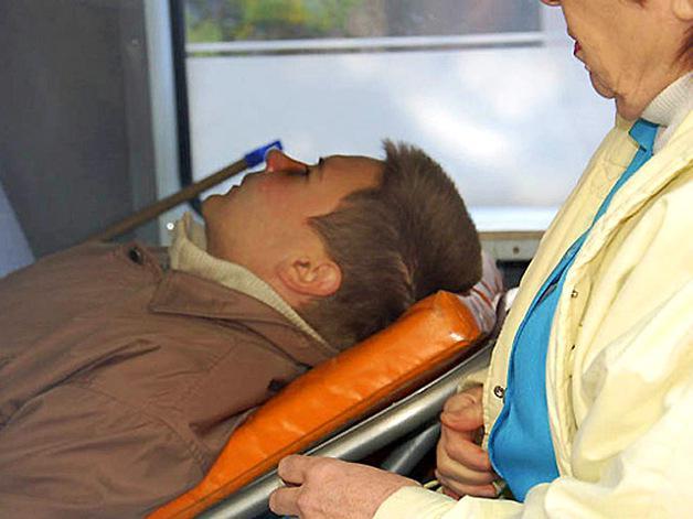 Житель Мар'їнки під час обстрілу отримав поранення голови