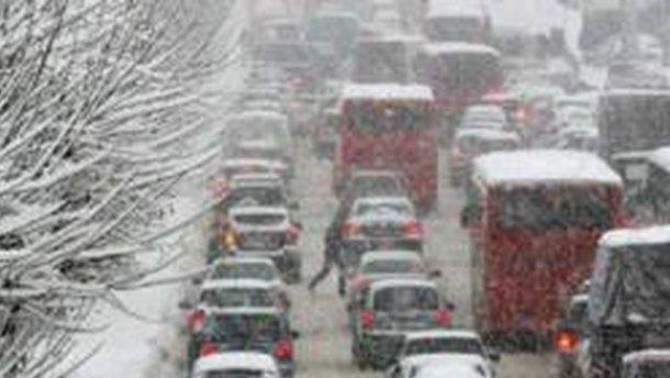На Львівщині обмежили рух на дорогах