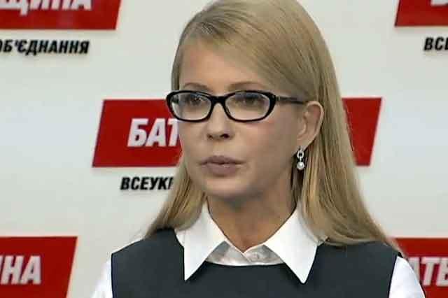 Тимошенко звинуватили у брехні